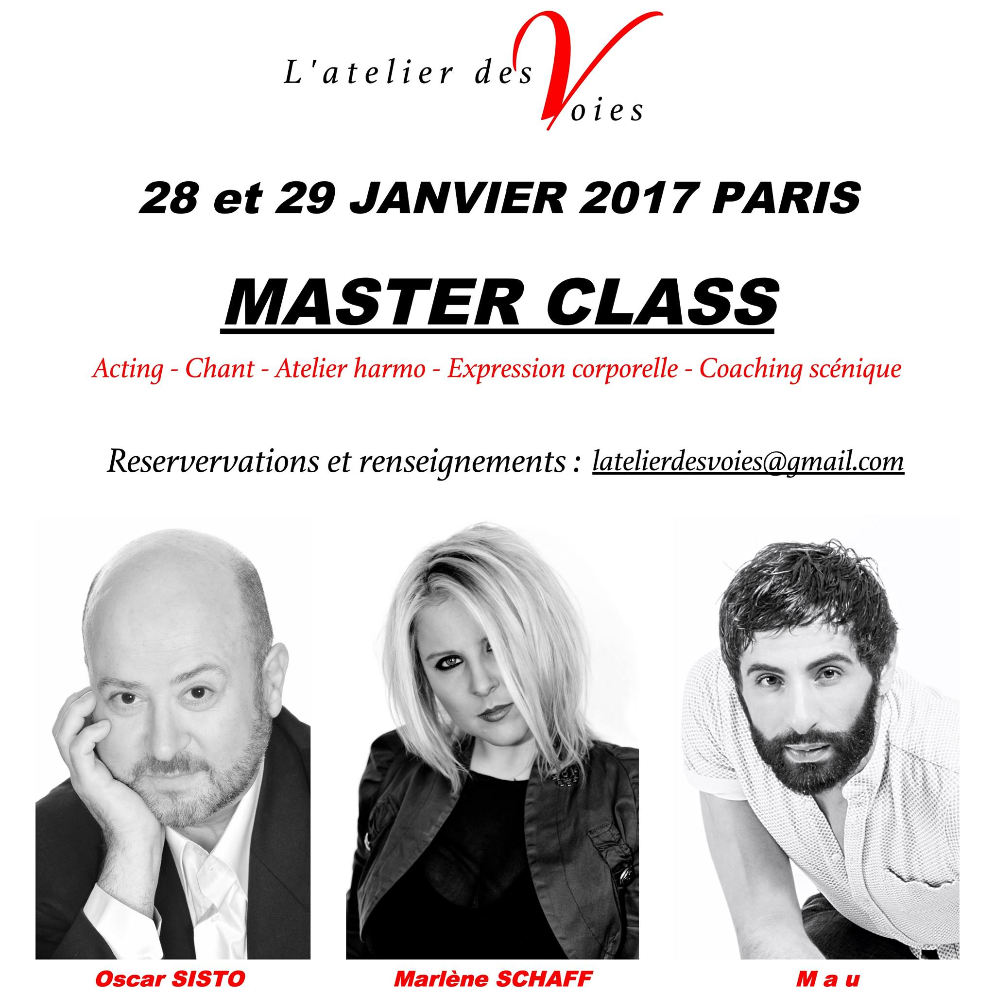 Master Class Studio Bleu