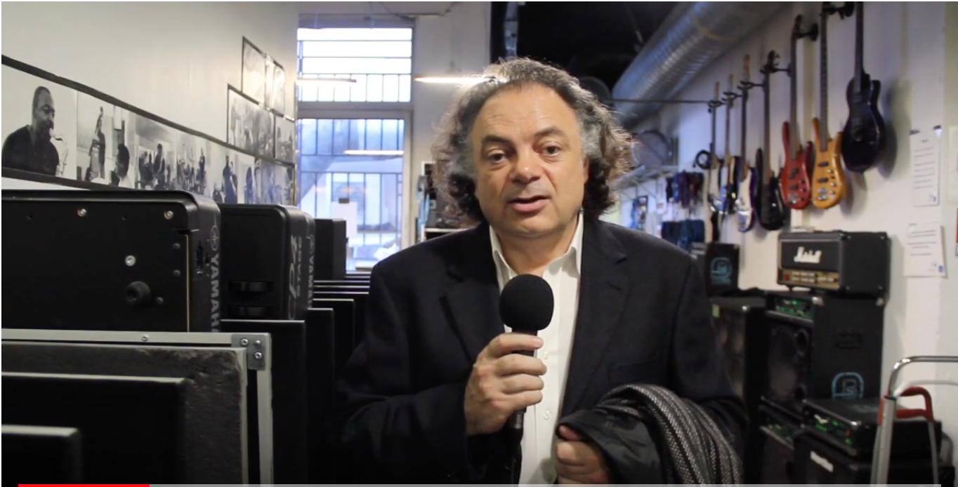 Vidéo Patrice Peyrieras à Studio Bleu