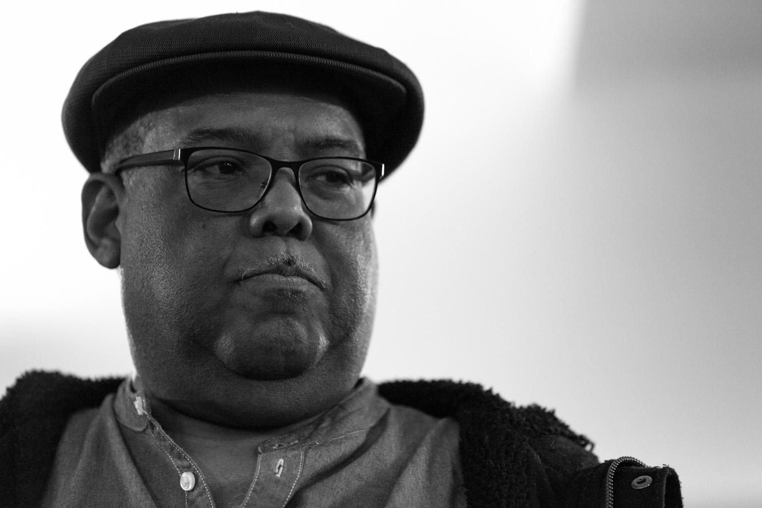 Orlando Poleo en répétition à Studio Bleu